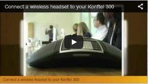 凯富通 300IP - 如何连接无线耳机